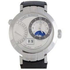 Certified Authentic and Warranty, Harry Winston Premier33733, White Dial