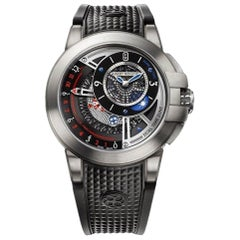 Certified Authentic and Warranty, Harry Winston Project Z816540, Black Dial