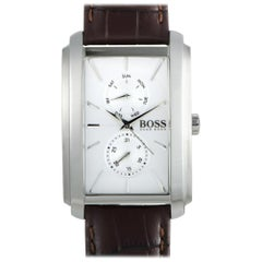 Certified Authentic and Warranty, Hugo Boss Ambition 359, Millimetres White Dial