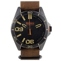 Certified Authentic and Warranty, Hugo Boss Berlin 246, Millimetres Black Dial