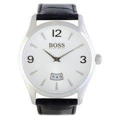 Certified Authentic and Warranty, Hugo Boss Commander239, Millimeters White Dial
