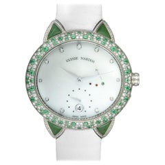 Certified Authentic and Warranty, Ulysse Nardin Jade99600, White Dial