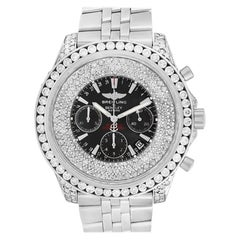 Certified Authentic Breitling Bentley 18000, Silver Dial