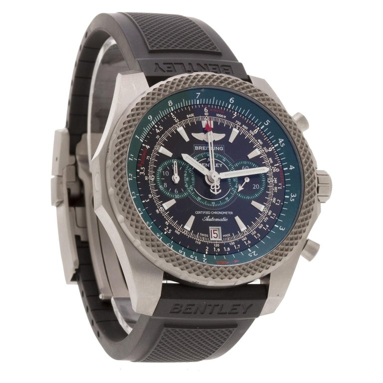 Certified Authentic Breitling Bentley 10380, White Dial