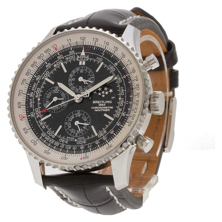 Certified Authentic Breitling Navitimer 8988, Missing Dial