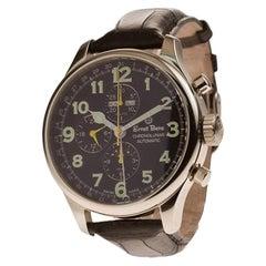 Certified Authentic, Ernst Benz Chronolunar 7056, Grey Dial