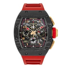 Certified Authentic Richard Mille RM 011356399 Black Dial