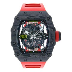 Certified Authentic Richard Mille RM 035270599 Black Dial