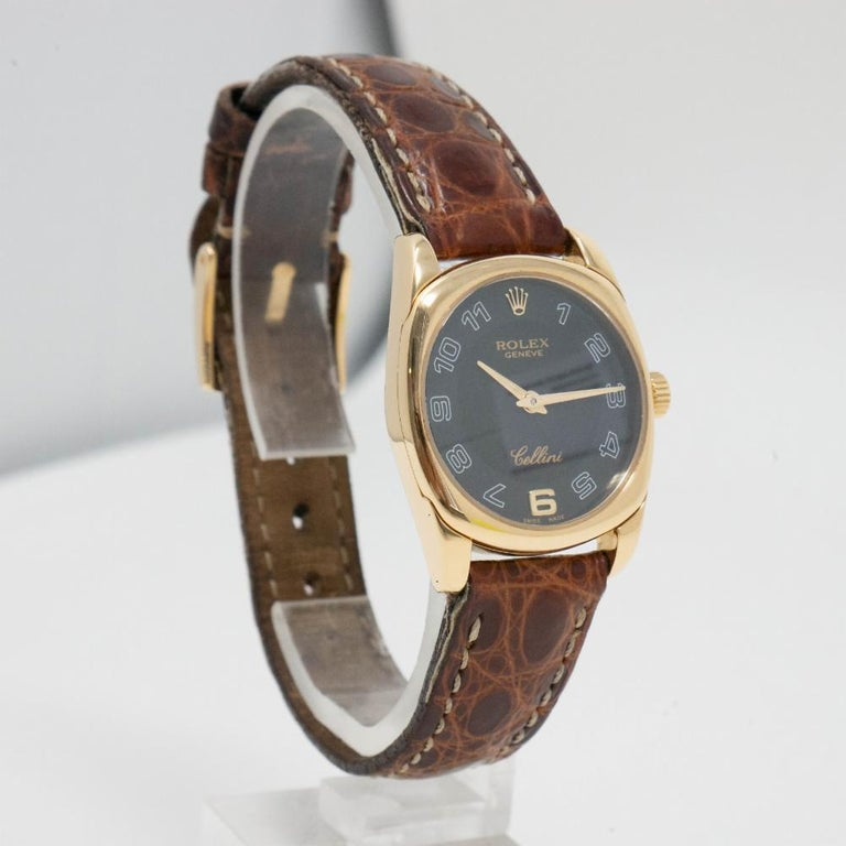 Authentic Rolex Cellini Danaos 6229 with Box and Papers For Sale 3
