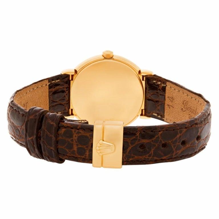 Certified Authentic, Rolex Cellini 5880, Black Dial 1