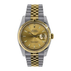 Certified Authentic Rolex Datejust9839 Black Dial