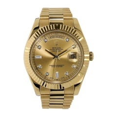 Certified Authentic Rolex Day-Date II40199