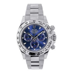 Certified Authentic Rolex Daytona 34799 Blue Dial