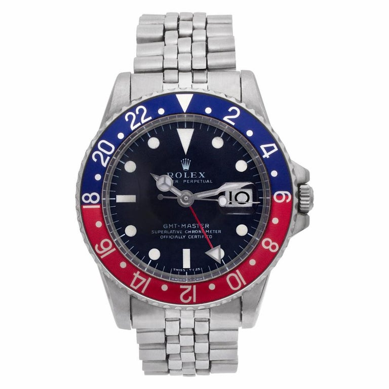Rolex GMT Master II Reference #:1675. Collectible Rolex GMT-Master