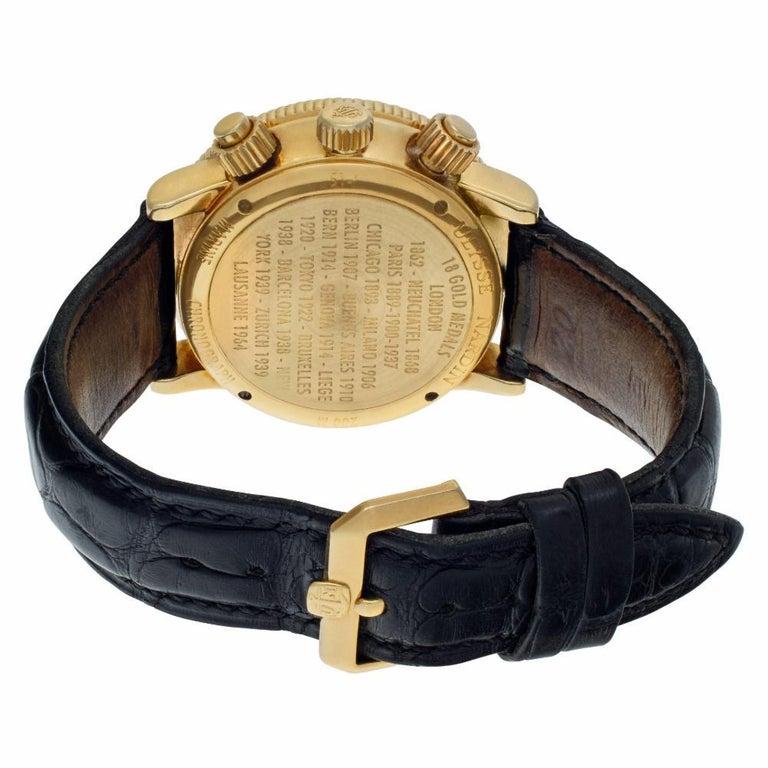 Women's Certified Authentic, Ulysse Nardin Marine 10560, Black Dial