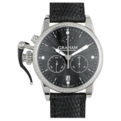 Certified Authentic & Warranty, Graham Chronofighter3071, Millimeters Black Dial