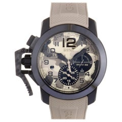 Certified Authentic & Warranty, Graham Chronofighter5622, Millimeters Beige Dial