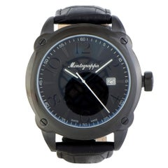 Certified Authentic & Warranty, Montegrappa Fortuna 1044, Millimeters Black Dial