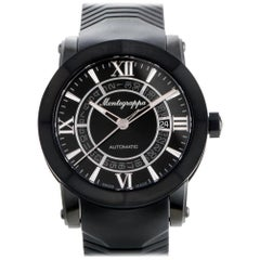 Certified Authentic & Warranty, Montegrappa Nerouno 3708, Millimeters Black Dial
