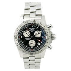 Certified Breitling Avenger Seawolf Box and Papers Men's Quartz Watch Chrono