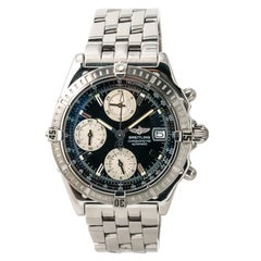 Certified Breitling Chronomat A13352 Men's Automatic Watch Chronograph Stainless