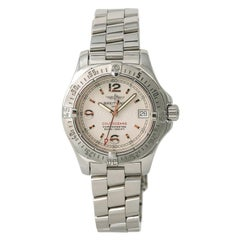 Certified Breitling Colt Oceane A77380 Women's Quartz Watch Cream Dial Stainless