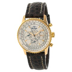 Certified Breitling Navitimer Montbrillant BlueAngels H30030.1 Men's Watch