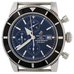 Certified Breitling Superocean A13320 with Band and Black Dial