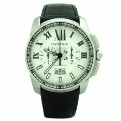 Certified Cartier Calibre W7100046 Stainless Steel Men's