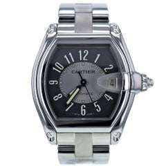 Certified Cartier Roadster 2501 Stainless Steel Men's