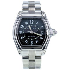 Certified Cartier Roadster 2510 Stainless Steel Men's