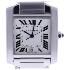 Certified Cartier Tank 2302 Silver Dial