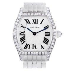 Certified Cartier Tortue Womens Manual Wind Watch WA501011