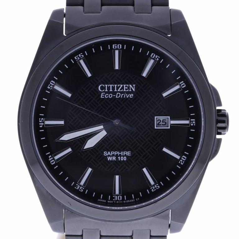 Certified Citizen Eco Drive Men S Watch J165 S091250