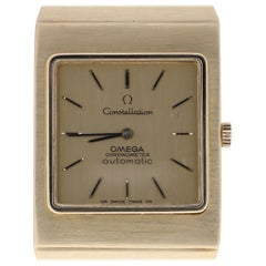 Certified Classic Omega Constellation Men's Watch