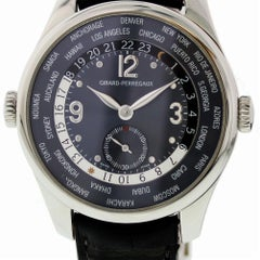 Certified Girard Perragaux Vintage 1945 King Small Seconds 49865
