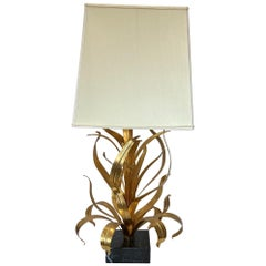 Certified Maison Baguès Table Lamp with Marble Base