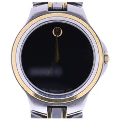 Certified Movado Museum Black Dial