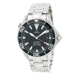 Certified Omega Seamaster 2254.50.00 Men's Automatic Watch Black Dial Stainless