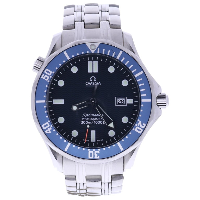 Certified, Omega Seamaster Professional For Sale