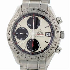 Certified Omega Speedmaster 3211.31.00 with Band and White Dial