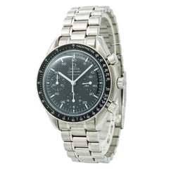 Certified Omega Speedmaster 3510.50 Men's Automatic Watch Black Dial SS