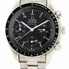 Certified Omega Speedmaster 3510.50.00 Band and Black Dial