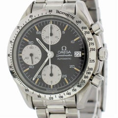 Certified Omega Speedmaster 3511.50.00 with Band and Black Dial
