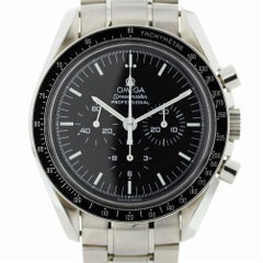Certified Omega Speedmaster 3570.50.00 with Band and Black Dial
