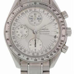 Certified Omega Speedmaster NA with Band and Silver Dial