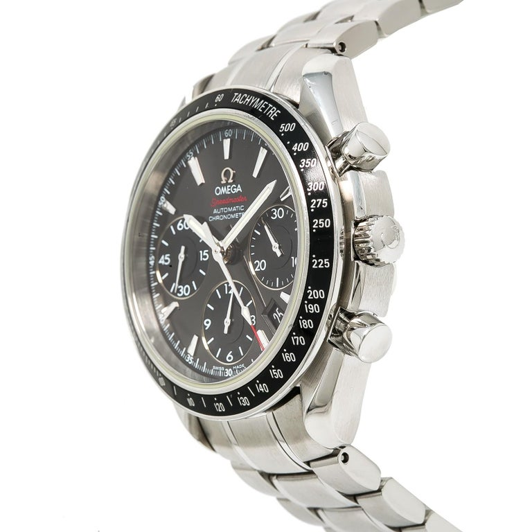 Omega Speedmaster  Reference #:323.30.40.40.06.001. . Verified and Certified by WatchFacts. 1 year warranty offered by WatchFacts.