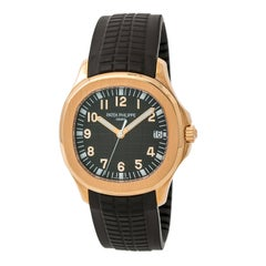 Certified Patek Philippe Aquanaut 5167R-001 Men's Automatic Watch 18 Karat RG