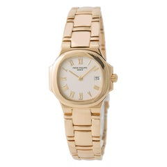 Certified Patek Philippe Nautilus 4700/51J-001 with Band, Yellow Gold