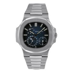 Certified Patek Philippe Nautilus 5712/1A-001 Blue Dial 'Mint. Compete with B&P'